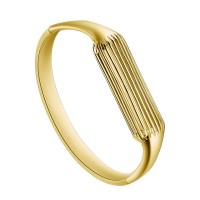 Aresh Fitbit Flex 2 Sport Watch Band, New Fashion Accessory Bracelet Bangle for Fitbit Flex 2 (Gold)