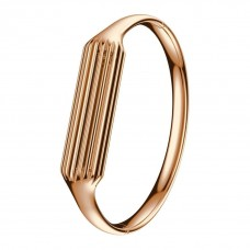 """Aresh Compatible Fitbit Flex 2 Bangle, New Fashion Accessory Bracelet Band Compatible with Fitbit Flex 2 , For wrist size: 6.3""""-6.5"""" (Rose Gold-Small)"""